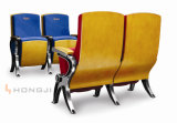 Spezielle Aluminiumlegierung-Feld-Hall-Sitzsitzplätze, Gewebe PU-lederner Auditoriums-Stuhl