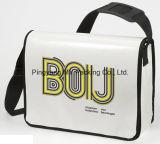 Saco de ombro tecido PP laminado BOPP feito sob encomenda da impressão