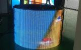 Afficheur LED d'intérieur de location ferroviaire du centre commercial d'aéroport P3.91