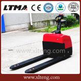 1.3 toneladas mini carro de paleta eléctrico lleno de 1.5 toneladas