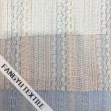 Tessuto di nylon a strisce del merletto per l'indumento delle signore