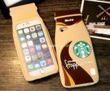Новые аргументы за iPhone6s силикона Starbucks/резиновый мобильного телефона