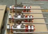 Robinet à tournant sphérique de flottement de contrôle de Dbb d'injection