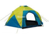 Barraca de acampamento ao ar livre Multi-User, barraca ao ar livre Rainproof dobro de primeira qualidade