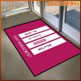 Natte de porte bienvenue de couverture de rectangle de plancher de natte de secteur imprimée