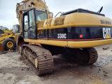 excavador excavador grande original/usado de Japón de la correa eslabonada 390dl de construcción del material de la oruga 390d/390dl para la venta