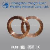 Fio de cobre de Aws Er70s-6 MIG para a soldadura da estrutura do metal