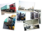 4.00-8 Pneu solide de chariot élévateur de vente en gros de constructeur d'OIN de la Chine