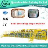 Machine de garniture de couche-culotte de fréquence de la Chine avec la qualité (YNK400-FC)