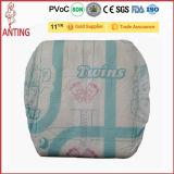 Patrón de papel vendedor caliente del pañal con la aprobación de la BV en Quanzhou Fujian China