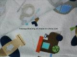 De afgedrukte Katoenen Stof van het Flanel voor de Deken van de Baby/het Kledingstuk van de Baby