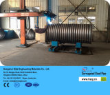 둥근 Shape Section Steel Bellow Corrugated 및 Galvanized