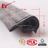 Tira de tempo reforçada aço da porta do PVC