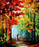 CanvasのハンドメイドのPalette Knife Modern Oil Painting