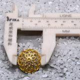 Легирующий металл Shank Sewing Button вне Cap способа Hollow