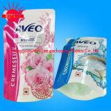 Pochette en plastique pour lit à dos pour sachet de jus et pochette pour jus