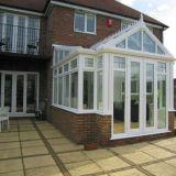 Aluminium Sunroom van het Glas van Feelingtop het Dubbel Aangemaakte voor Villa (FT-S)