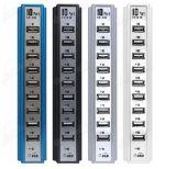 10 포트 480Mbps USB 허브 2.0 고속 USB 허브