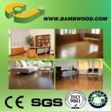 솔질하는 또는 Distressed Strand Woven Bamboo Floor