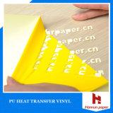 Wärmeübertragung-Vinyl-PU-Film-glatte Wärmeübertragung-Vinylrollengröße