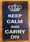 Placa pintada Eco-Friendly do sinal da chapa dos ofícios com palavras da sabedoria