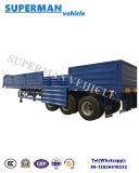 De 3 eixos da madeira/da estaca transporte de mina da carga reboque Semi para vendas