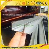Perfil de aluminio de abastecimiento de la protuberancia del fabricante de aluminio del perfil para la puerta deslizante