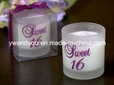 Candele decorative di massaggio come regalo di cerimonia nuziale