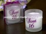 Velas decorativas da massagem como o presente de casamento
