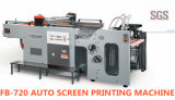 De auto Machine van de Druk van het Scherm van pvc van de Hoge snelheid van de Cilinder van de Schommeling