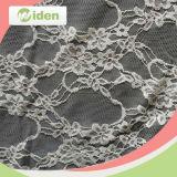 Nylon del tessuto dei vestiti delle donne e tessuto netto del merletto di Raschel dello Spandex