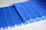 Banda transportadora modular plástica del límite plano del espacio doble 900