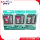 2-en-1 Accesorios para el coche del teléfono móvil Holder y cargador USB