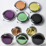 Miroir cosmétique pliable de miroir en cristal de cadeau de promotion