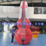 La publicité extérieure de modèle gonflable de violon/produits de publicité gonflables