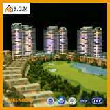 公共施設の計画モデル建築モデル構成モデルメーカーまたは展覧会のまたはチュニジアのスポーツ都市モデル