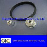 Ossidare duro la puleggia cronometrante di alluminio