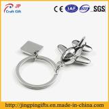 Catena chiave del regalo del metallo su ordinazione promozionale degli elementi con l'anello