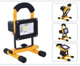 &Portable& Rechargeable LED Emergency Flood Light/LED Working Light di 10W-50W COB/SMD Waterproof per Outdoor con CE, RoHS