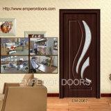 Portello del PVC di buona qualità, portello esterno, portello di legno interno