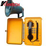 Koontech, das Loud wetterfestes Telefon Koontech Knsp-08 spricht