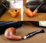 Pipe de fumage de bonne qualité en bois principale grande de Weed de pipe de tabac