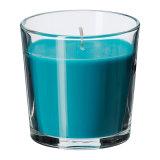 Vela perfumada de la soja natural del 100% en vela de cerámica del tarro