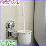 ABS de Plastic Borstel van het Toilet met de Schoonmakende Toebehoren van de Badkamers van de Houder