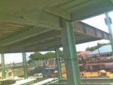 Construction de bâti préfabriquée en métal de Multi-Étage de structure métallique avec le mur rideau
