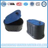 Plastikwasser-Messinstrument-schützender Kasten