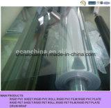 Strato rigido trasparente di plastica del PVC per la casella piegante