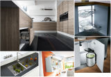 MDF Kitchen Cabinetの最もよいSale Simple Design Highquality Cheap Price
