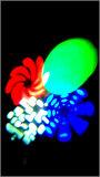 Mini indicatore luminoso capo mobile 8pattern di qualità con lo stroboscopio, oscurante funzione di rotazione