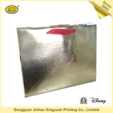 Überzogener Papiergoldhandluxuxbeutel für Geschenk (JHXY-PBG0011)